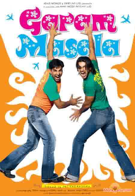 Poster of Garam Masala (2005) - (Hindi Film)